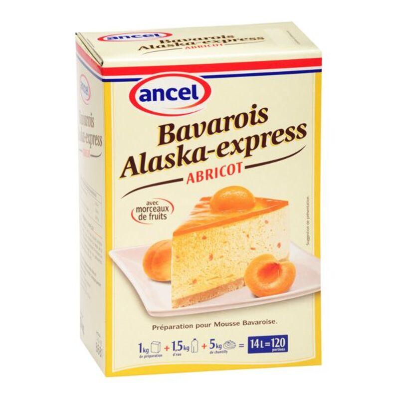 Préparation bavarois abricot Alaska 1 kg