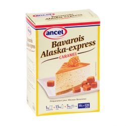 Préparation bavarois caramel Alaska 1 kg