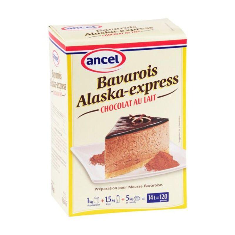 Préparation bavarois cacao lait Alaska 1 kg