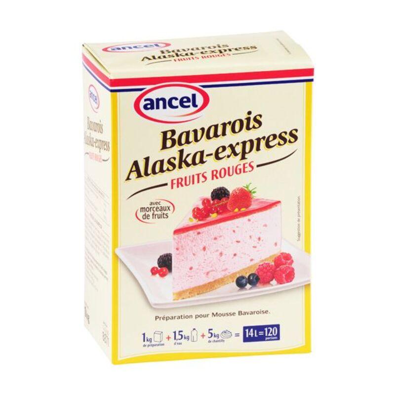 Préparation bavarois fruits rouges Alaska 1 kg