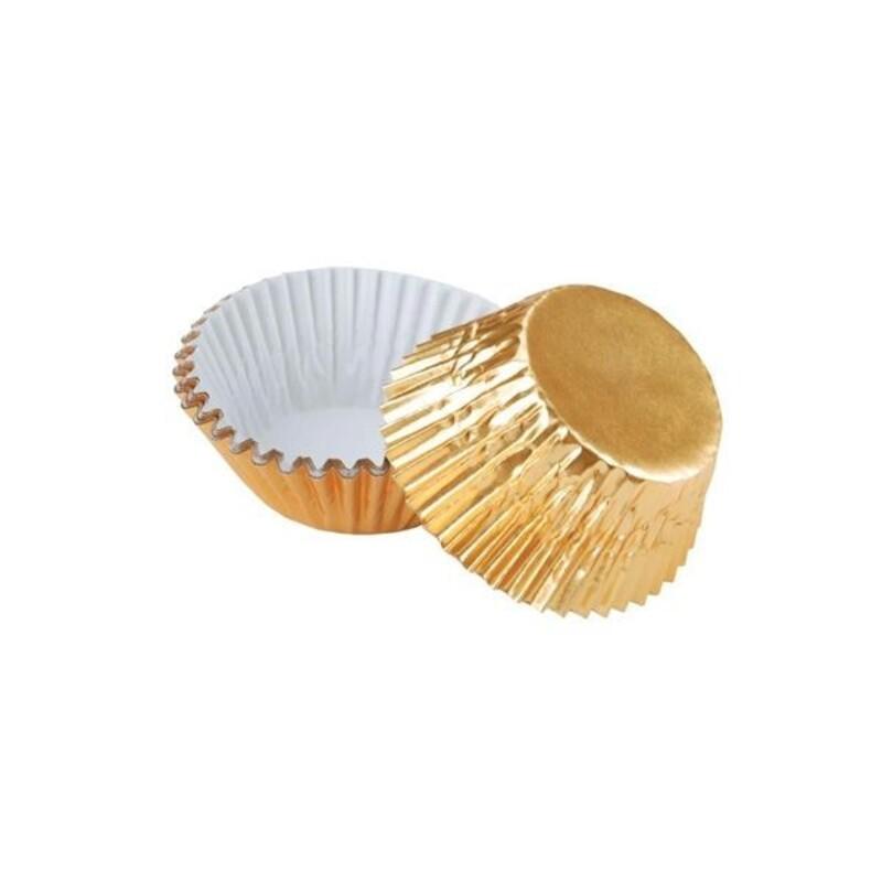 Mini-Caissette dorée Wilton (x36)