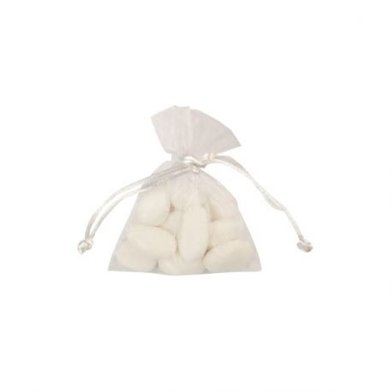 Sac organza blanc (x10)
