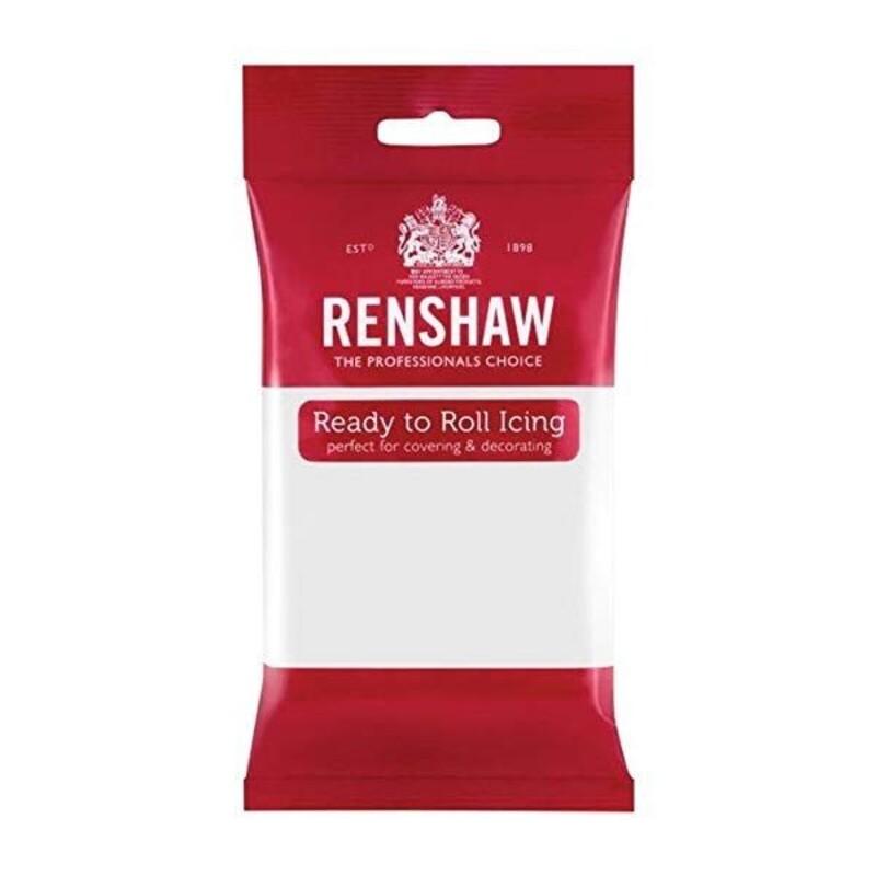 Pâte à sucre blanche Renshaw 250 g