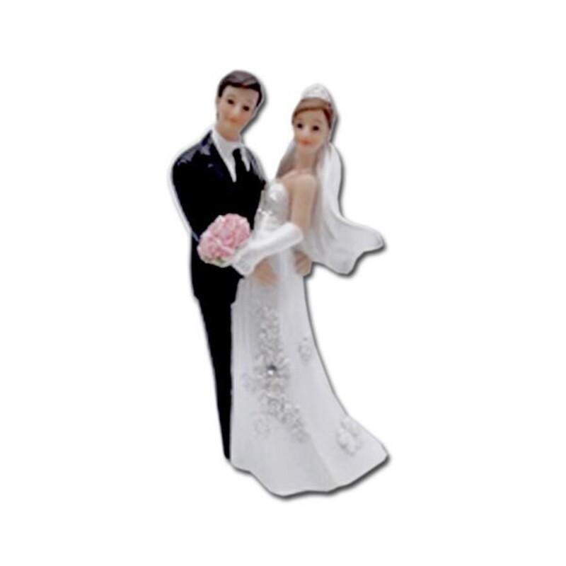 Couple mariés Regardez-nous ! 12 cm