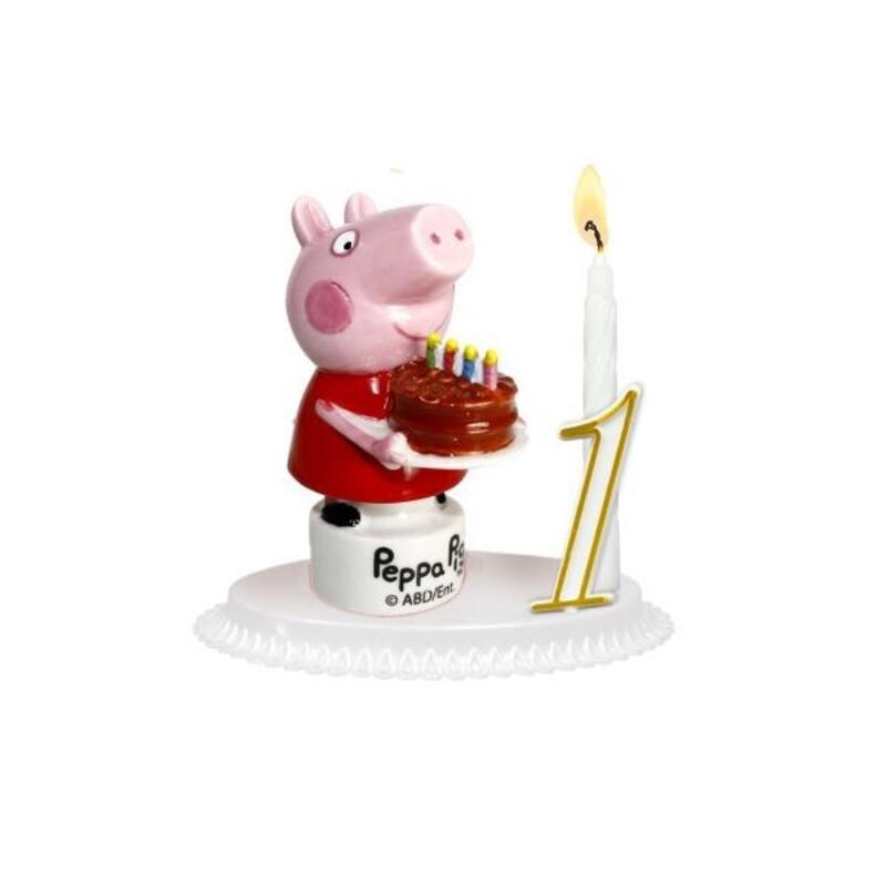 Kit bougie Peppa Pig