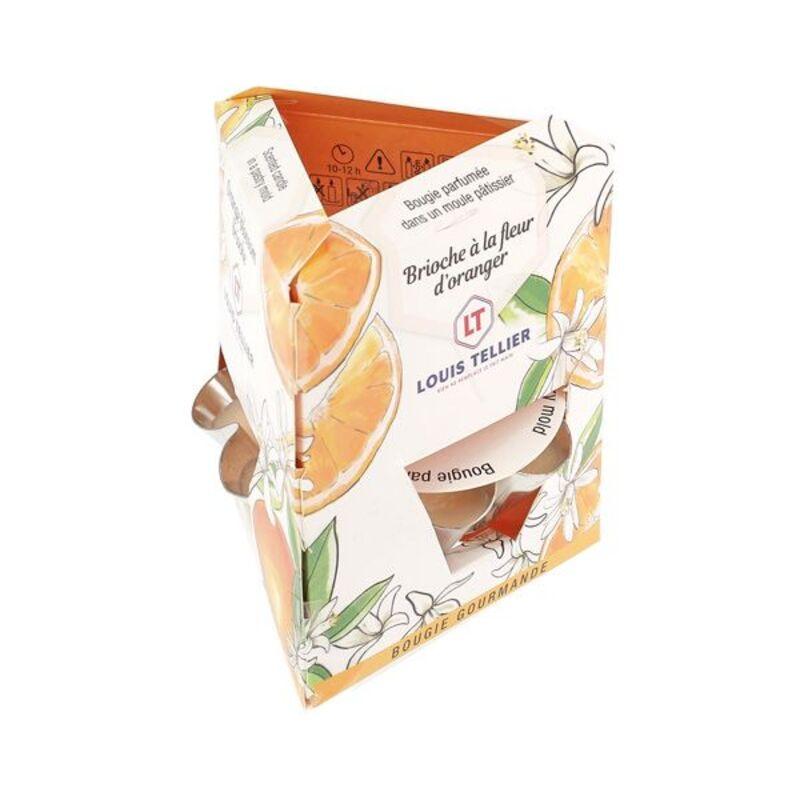 Bougie Gourmande Brioche à la fleur d'oranger