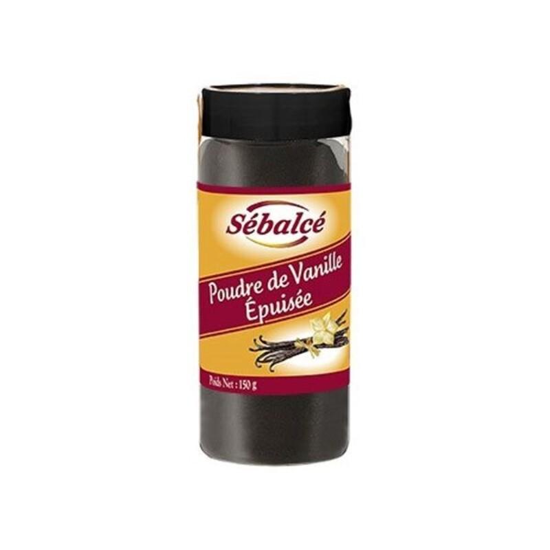 Poudre de vanille épuisée Sébalcé 150 g