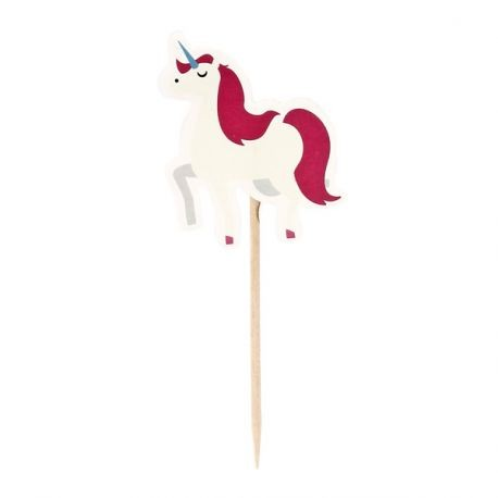 Cupcake Toppers Licorne (x12)