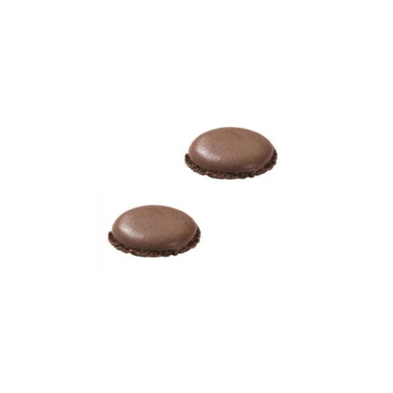 Coques de macarons au cacao (x224)