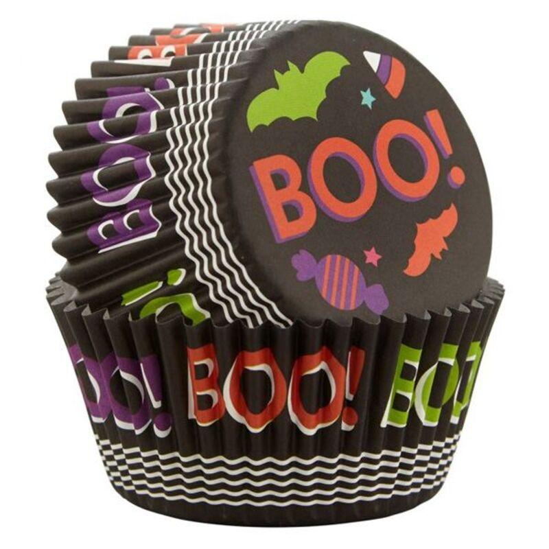Caissette cupcake Halloween Boo Wilton (x75)