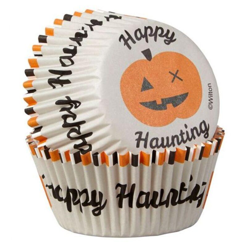 Caissette cupcake Halloween Happy Haunting Wilton (x75)