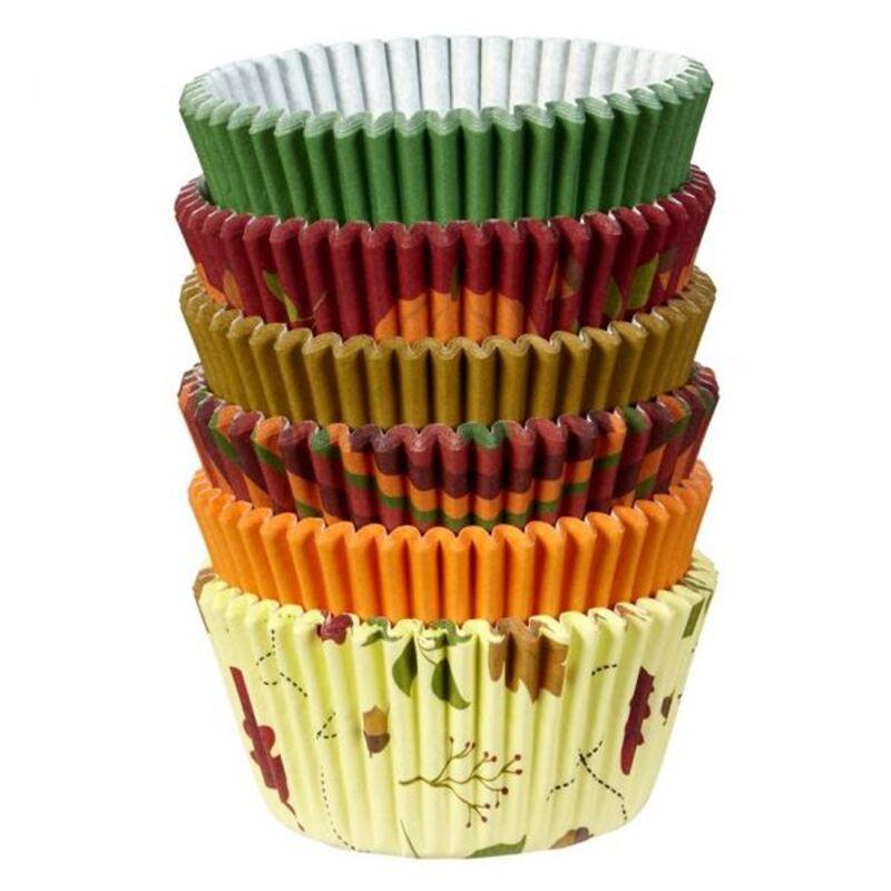 Caissette cupcake automne assorties Wilton (x150)