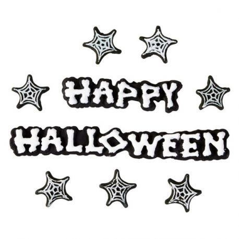 Décors comestibles Happy Halloween Wilton