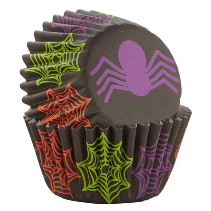 Mini caissette cupcake araignée Wilton (x100)