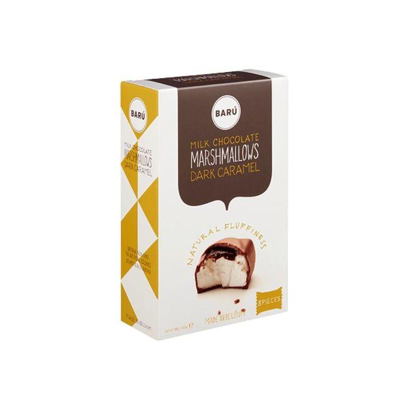 Guimauve chocolat au lait au caramel - 120g