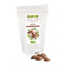 Chocolat au Lait de couverture Bio 36% 250 g