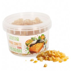 Oranges confites en cubes Bio 150 g