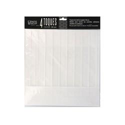 Toque en papier plissé H 30 cm (x4)