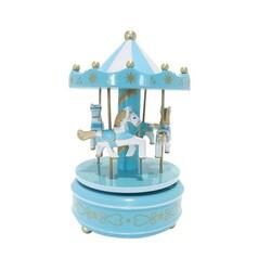Carrousel musical bleu Patisdécor