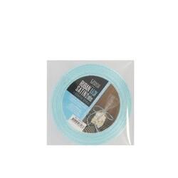 Ruban bleu satin 0.6 cm (22 m) Patisdécor