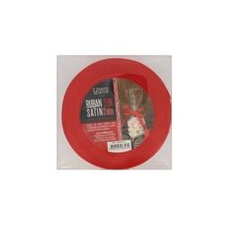 Ruban rouge satin 2.5 cm (22 m) Patisdécor