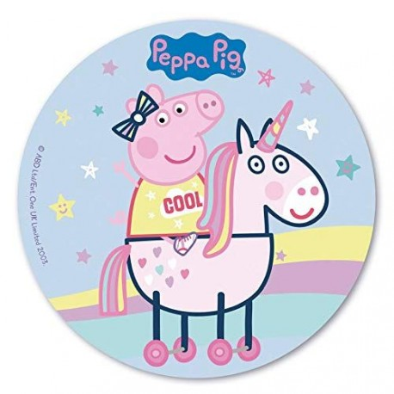 Disque azyme Peppa Pig 20 cm