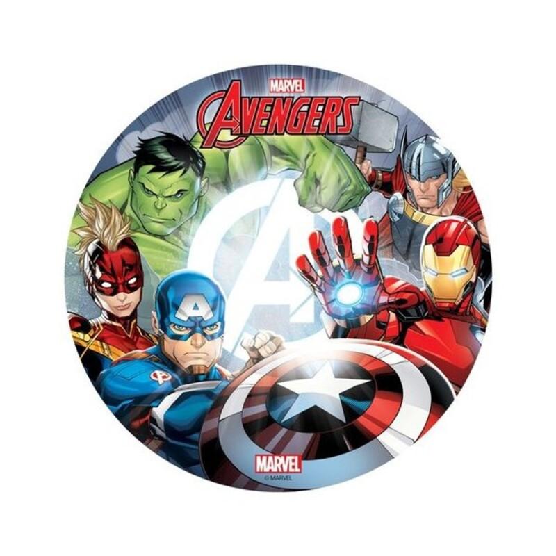 Disque azyme Avengers 20 cm