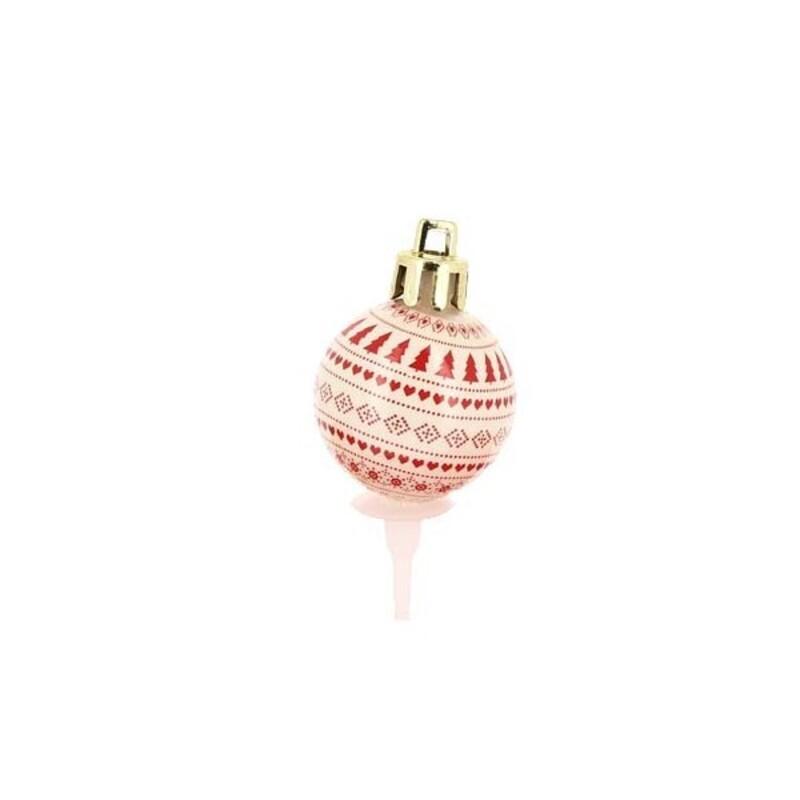 Décors boule de Noël assortis (x50)