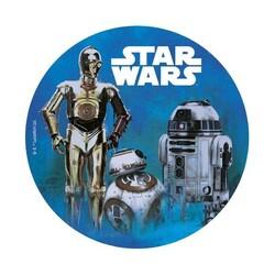 Disque azyme droïdes Star Wars 20 cm