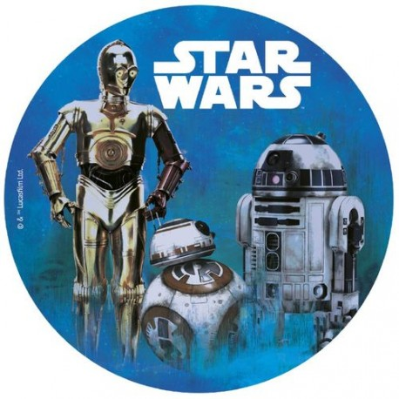 Disque azyme Star Wars 20 cm