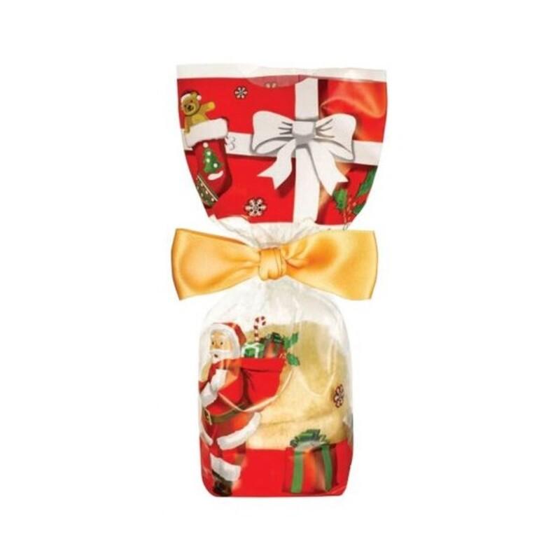 Sachets fond carton décor Noël (x100)