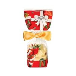 Sachet fond carton décor Noël (x50)