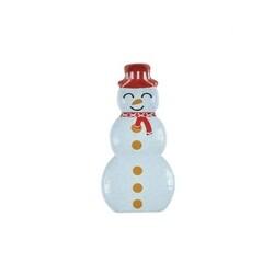 Décorations chocolat blanc Bonhomme de neige (x96)