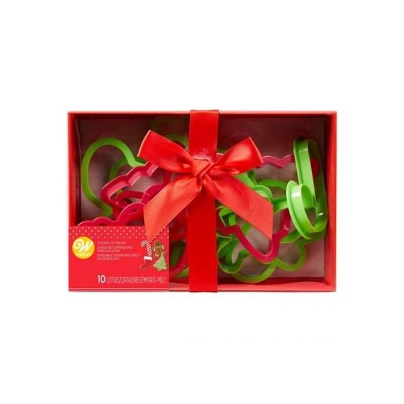 Emporte-pièces Noël plastique (x10)