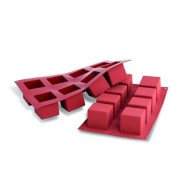 Moule silicone 8 grands cubes