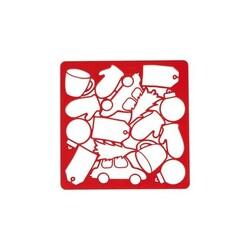 Plaque multi-découpoirs à biscuit de Noël