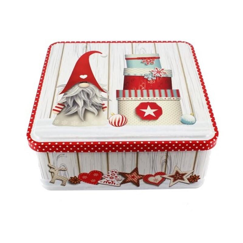 Boîte à gâteau Noël
