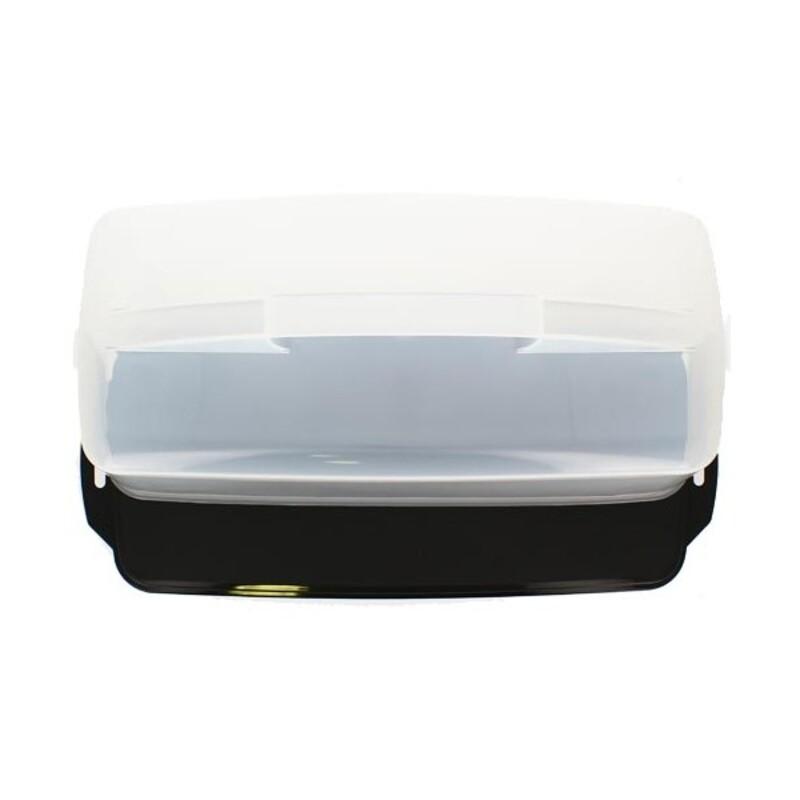 Boîte à gâteau rectangulaire de transport 43 cm