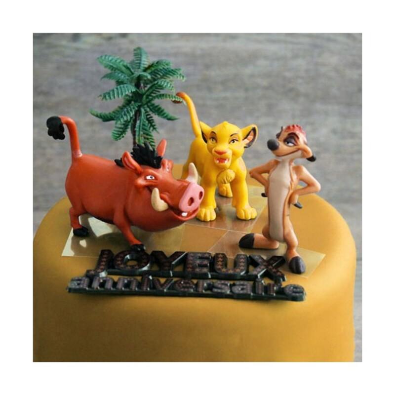 Kit décor anniversaire Le Roi Lion