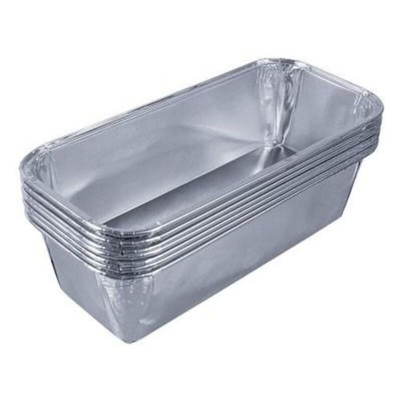 Moule à cake jetable en aluminium (x100)
