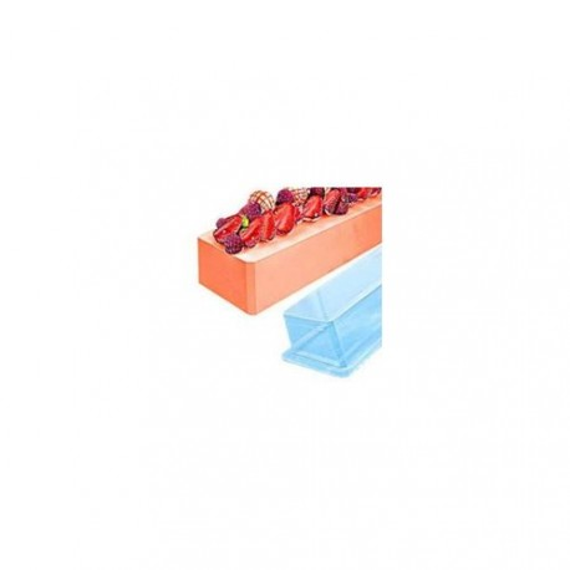 Gouttière à bûche carré lisse (x12)
