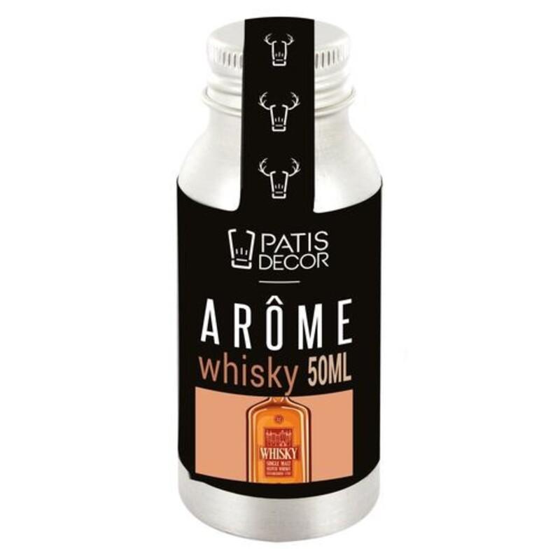 Arôme alimentaire naturel Whisky Patisdécor