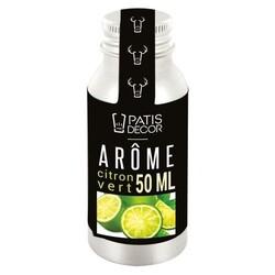 Arôme alimentaire Citron Vert Patisdécor