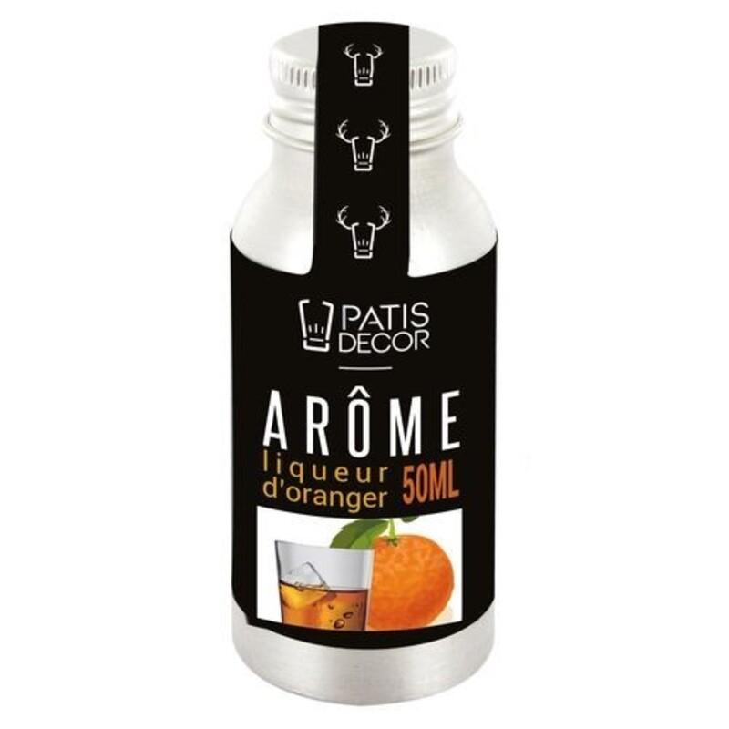 Arôme alimentaire naturel Liqueur Oranger Patisdécor