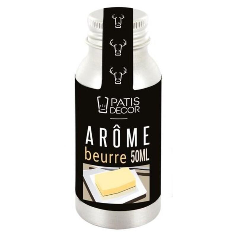 Arôme naturel saveur Beurre Patisdécor 50 ml