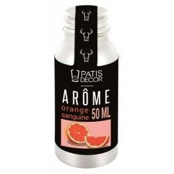 Arôme alimentaire naturel Orange Sanguine Patisdécor
