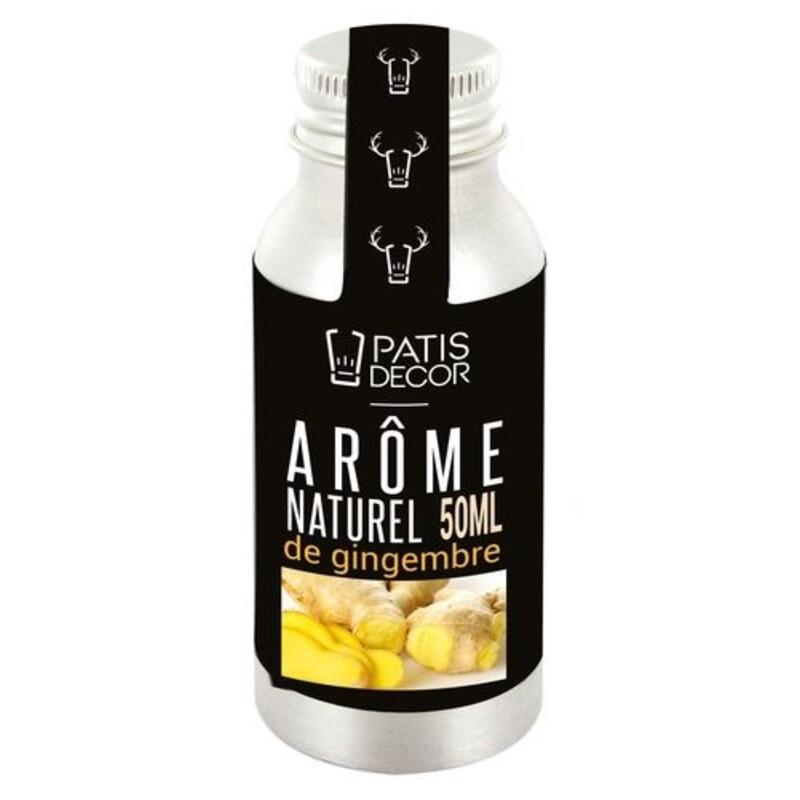 Arôme alimentaire naturel Gingembre Patisdécor
