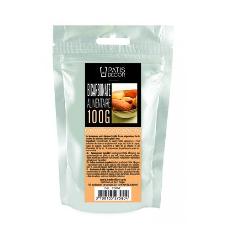 Bicarbonate alimentaire Patisdécor 100 g