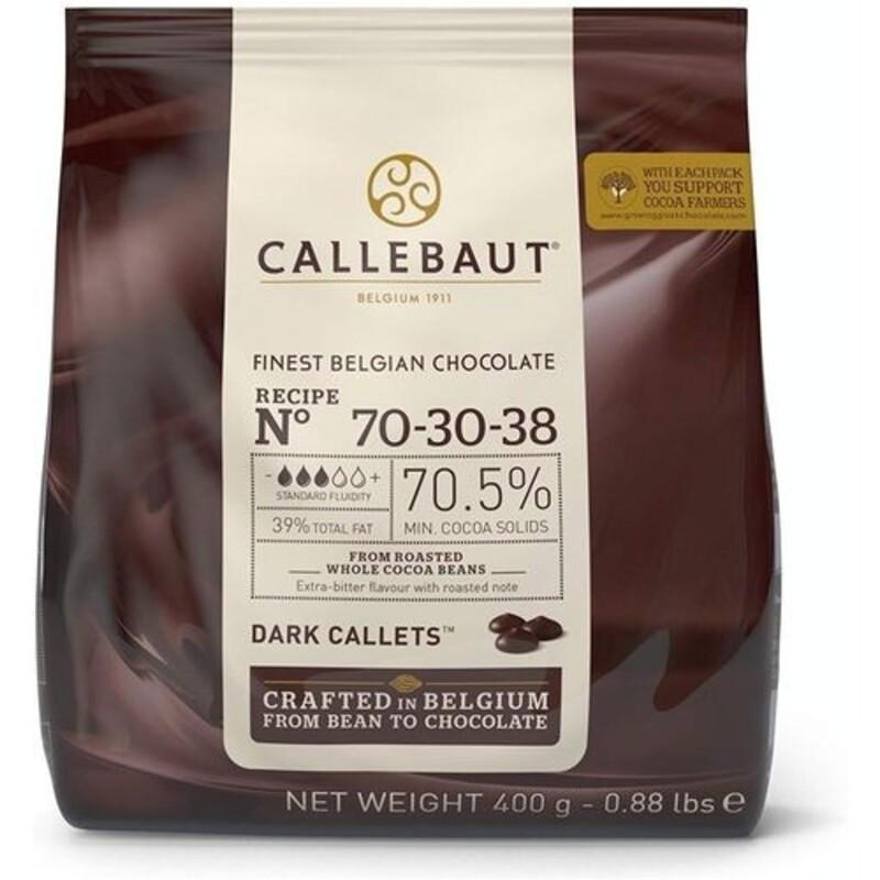 Chocolat noir 70 - 30 - 38 70.5 % Callebaut