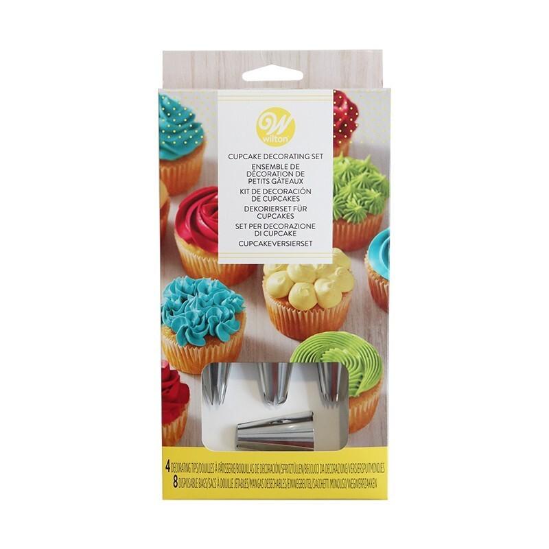 Douille décoration cupcake Wilton (x4)